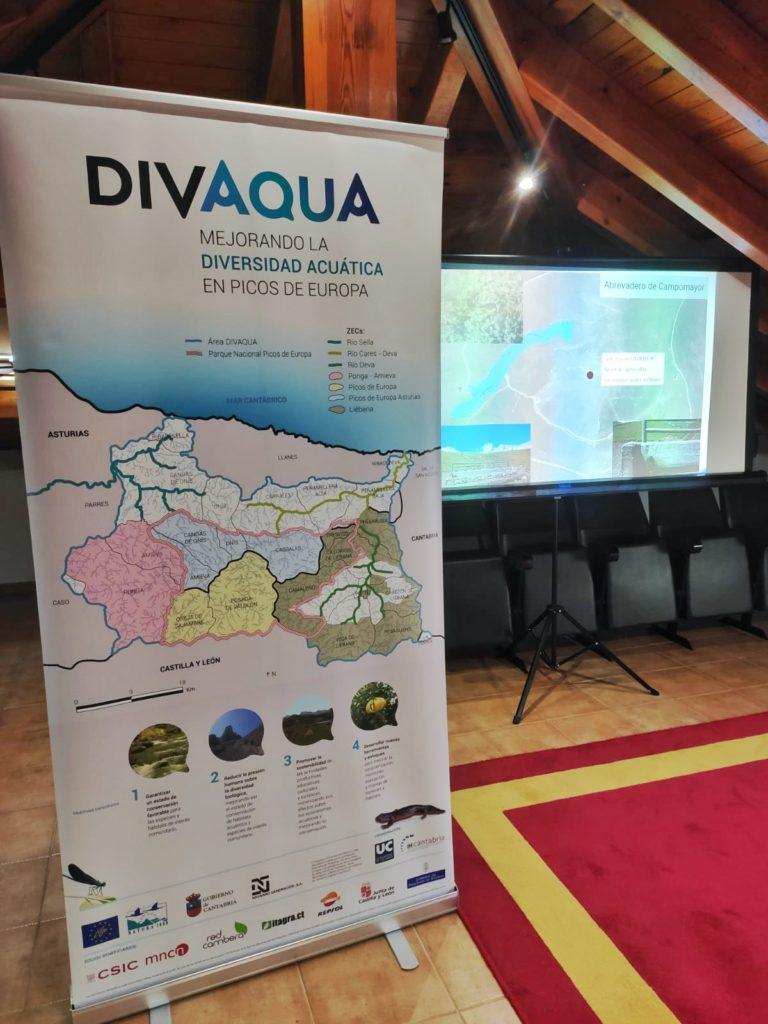 Presentación LIFE DIVAQUA en segunda jornada participativa del proyecto.
